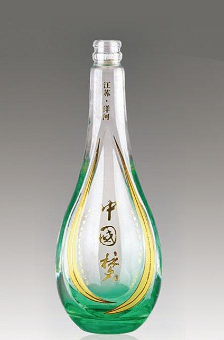 晶白料酒瓶 007