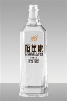 晶白料酒瓶 141